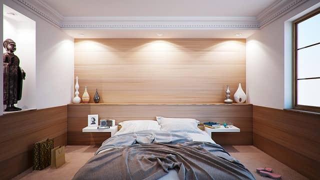 Ložnice je místem, kde si můžete odpočinout